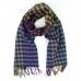 Многоцветный шарф в мелкую клетку #539 JOHN HANLY