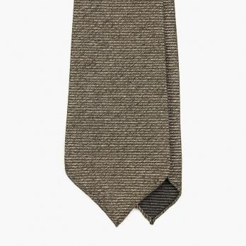 Бежевый шелковый галстук FOUR-IN-HAND