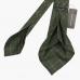 Зеленый галстук в крупную клетку FOUR-IN-HAND в семь сложений