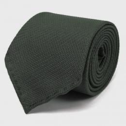 Темно-зеленый шелковый галстук FUMAGALLI 1891