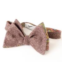 Brown Melahge Bow-Tie Inzhener Garin