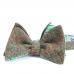 Зеленая шерстяная бабочка в елочку ИНЖЕНЕР ГАРИН