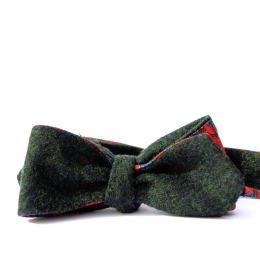Зелёная шерстяная бабочка с шелковой подкладкой ИНЖЕНЕР ГАРИН