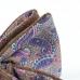 Коричневая шерстяная бабочка с бежевой подкладкой с узором пейсли ИНЖЕНЕР ГАРИН