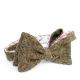 Коричневая твидовая бабочка с полосатой подкладкой ИНЖЕНЕР ГАРИН