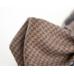 Серо-коричневая бабочка в клетку из тонкой шерсти ИНЖЕНЕР ГАРИН