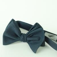 Specled Navy Cotton Bow-Tie Inzhener Garin