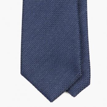 Синий галстук MEROLA из фактурного шёлка