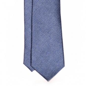 Голубой шёлковый галстук MICHELSONS