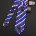 Синий в косую полоску шелковый галстук ASCOT