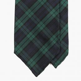 Шёлковый галстук в клетку Blackwatch STEFANO CAU