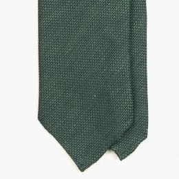 Зеленый галстук из шёлка-гренадина UMBERTO FORNARI