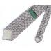 Бежевый фланелевый галстук с цветочным узором VARSUTIE