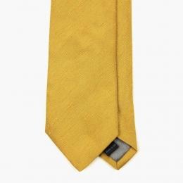 """Жёлтый галстук из шелка """"шантунг"""" и шерсти VARSUTIE"""