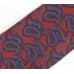 Красный фланелевый галстук с узором пейсли VARSUTIE