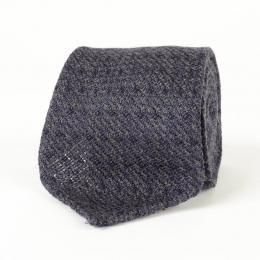 Серо-синий галстук из шелка-гренадина и шерсти VARSUTIE