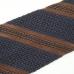 Синий галстук в полоску из шелка-гренадина VARSUTIE