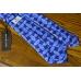 Винтажный синий шёлковый галстук GaGà