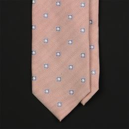 Винтажный светло-коралловый галстук VAN LAACK