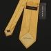 Желтый шелковый галстук FUENTECAPALA