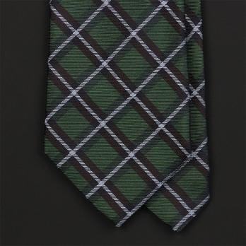 Зеленый галстук в клетку FUENTECAPALA