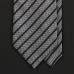 Серый галстук в полоску FUENTECAPALA из шелка и хлопка