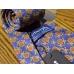 Винтажный шёлковый галстук BURBERRYS с декоративным узором