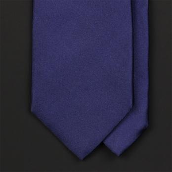 Синий галстук из атласного шёлка ULTURALE