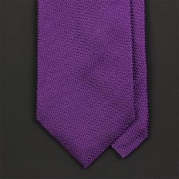 Сиреневый шелковый галстук FUENTECAPALA