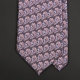 Лавандово-лиловый шелковый галстук FREY WILLE