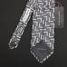 Серый галстук DOLCE & GABBANA с геометрическим орнаментом