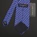Синий галстук BROOKS BROTHERS с узором в виде лошадей и скотчтерьеров