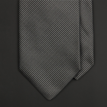 Серый шелковый галстук PROFUOMO