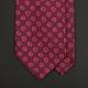 Бордово-розовый шелковый галстук PAUL SMITH