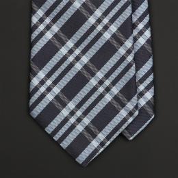 Синий клетчатый галстук LODING PARIS