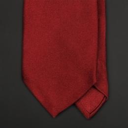 Бордовый галстук из атласного шёлка TANTAL