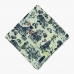 Шелковый нагрудный платок с орнаментом-иллюстрацией OLYMP