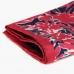 Шелковый нагрудный платок 4 в 1 в красных, синих и розовых тонах OLYMP