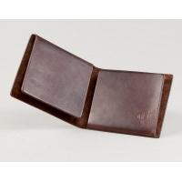 Коричневый кошелёк Ф22