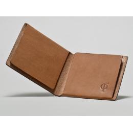 Светло-коричневый кошелёк Ф22
