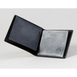 Черный кошелёк Ф22