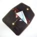Темно-коричневый бумажник для путешествий в винтажном стиле FRIDAY GOODS