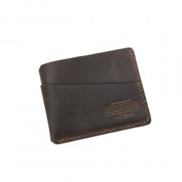 Коричневый компактный кошелёк FRIDAY GOODS