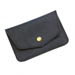 Чёрный бумажник для путешествий в винтажном стиле FRIDAY GOODS