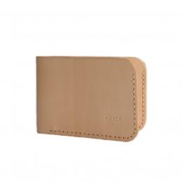 Тонкий бумажник GARDE из некрашеной кожи