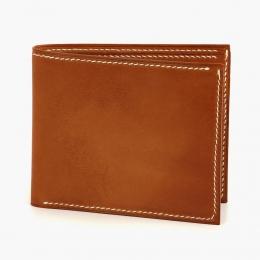Коричневый бумажник HOOF из кожи Avancorpo