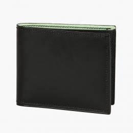 Черный бумажник HOOF из кожи Box calf