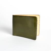Зеленый бумажник IL BUSSETTO с 8 слотами для карт