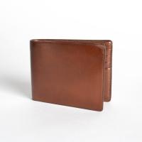 Коричневый бумажник IL BUSSETTO с 8 слотами для карт