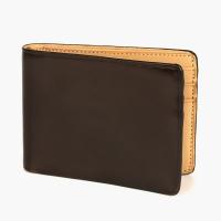Темно-коричневый бумажник IL BUSSETTO с 6 слотами для карт (Dollar Size)